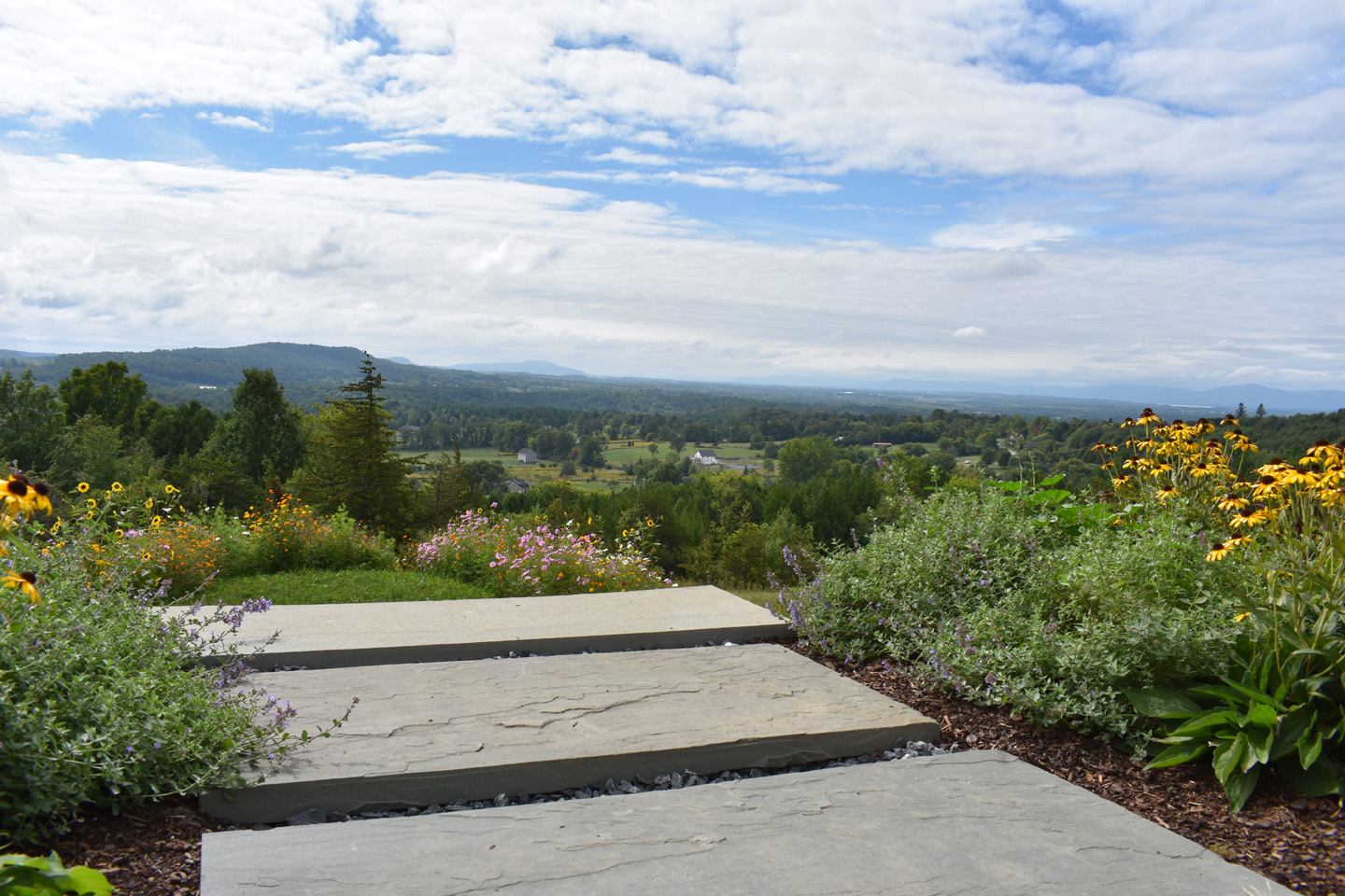 16 - After - View from top of bluestone steps - Distinctive