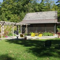 Transition from your house to your patio with a screen porch