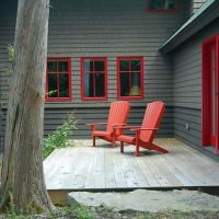 Simple, elegant porches