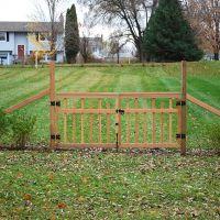 Farmhouse fence design