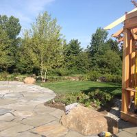 Build: Outdoor patio for dining